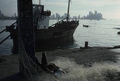 Alex Webb - Panama City. 1999. Looking towards Punta Paitilla from the port.