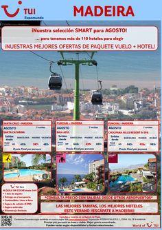 Vente a #Madeira en #agosto con nuestras #ofertas #smart de #vuelo y #hotel