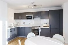 Maybe paint the cupboards etc  3 bedroom flat for sale in Gaumont Tower, Dalston Square, London