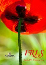 Agenda LNH Iris n.º 9. Revista digital de AEFONA (Asociación Española de Fotógrafos de Naturaleza). Edición de textos, diseño y maquetación.