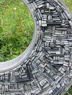 Art from left over stone pieces by Tom Stogdon