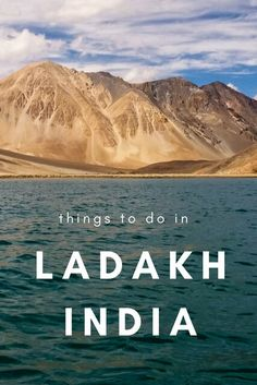 """There are a huge range of tourist places in Ladakh and exciting things to do. Based in the Trans-Himalaya region, this is India's """"Little Tibet. Travel Destinations In India, India Travel Guide, World Travel Guide, Asia Travel, Travel Tips, Travel Nepal, Arizona Travel, Travel Plan, Travel Goals"""