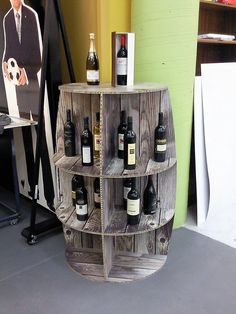 X-Board wine barrel display by Xanita.com, via Flickr