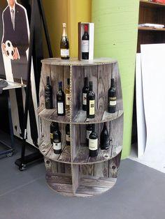 X-Board wine barrel display by Xanita.com, via Flickr