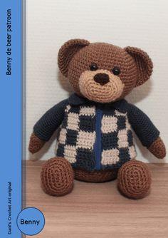 Benny de beer patroon Dani's Crochet Art