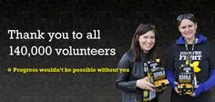 Thank you to all of our amazing volunteers! We would not be where we are without you.