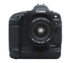 2001 EOS-1D  Canon introduces the EOS-1D, a pro-level digital SLR for sports and news photographers. It is immediately adopted by photographers around the world.