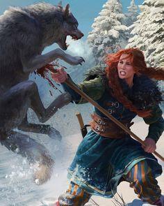 Heymaey Battle Maiden (cf. Gwent)