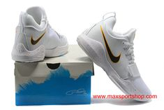 5fd06691cb19 Welcome to cheap Nike PG 1 Home PE Clean White Black and Yellow Swoosh Men s  Basketball Shoes for sale