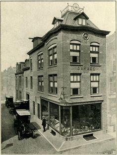 Ridderschapstraat 1-3 - vm fietsfabriek en autoassemblagebedrijf Immink, later NV Utrechtsche Autogarage vh Anton G. Immink. Het achterpand nr 3 is uit 1907 en het voorpand is in 1911 herbouwd als metaalklopperij, inrichting voor verchromen en vernikkelen, magazijn en een werkplaats met showroom en bovenwoning. A.G. Immink begon aanvankelijk met een fietsfabriek en fietsonderdelen, hij stapte rond 1911 over op de assemblage van automobielen.