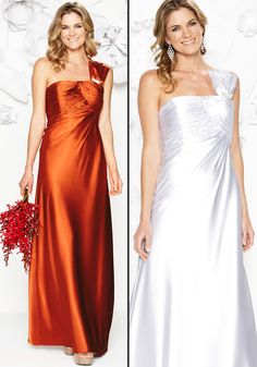 """ONGOING BRIDESMAIDS : MR K  KB4873  In store now!  This is my orange (""""rust"""") colour of my wedding dress! (Different dress, tho'). :D"""