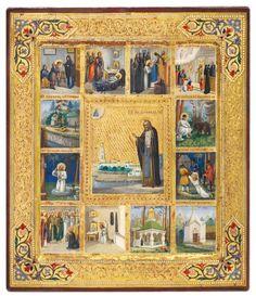 Преподобный Серафим Саровский, чудотворец (†1833)