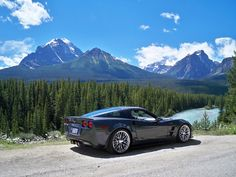 ZR1 Corvette. Would love to drive this through the mountains!
