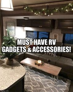 List Of Must Have RV Gadgets & Accessories! (THE TOP Time to talk about what we consider 5 must have RV gadgets & accessories. Tactical Survival, Everyday Items, Greatest Adventure, Camping Tips, Cool Tools, Self Defense, Survival Tips, Gadgets, Hiking