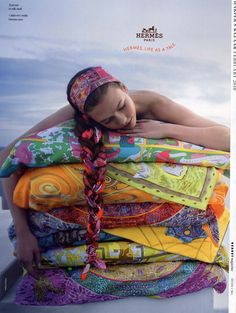 Hermes Campaign...this was one of my fave ads.