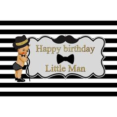 Little Man Pattern Backdrop for Boy Birthday Party Photography Backgro – starbackdrop Prom Backdrops, Studio Backdrops, Backdrops For Parties, Birthday Backdrop, Birthday Background, Photographer Backdrop, Birthday Party Photography, Party Flags, Texture Photography