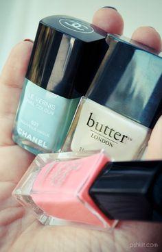 Perfect color. love chanel nail polish!