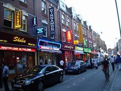 So many choices for curry on Brick Lane in London. Watch out for the restaurant employees, they will hassle you from the restaurant to get you to eat at there.