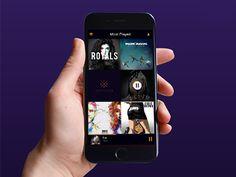Play On App Design by Mark Gerkules