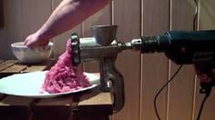 Wife asked for a new meat grinder with electric motor. I saved some money and made one from hand-powered grinder and drill. The best part is that I was allow. Best Whitening Toothpaste, Toilet Brushes And Holders, Mince Meat, Best Meat, Preserving Food, Youtube, Food Hacks, Cooking Tips, Drill