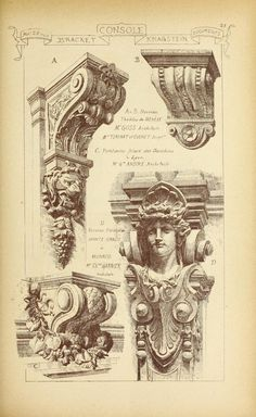 Materials and documents of architecture and sculpture : classified alphabetically Classic Architecture, Architecture Drawings, Gothic Architecture, Ancient Architecture, Amazing Architecture, Architecture Details, System Architecture, Architecture Collage, Architecture Magazines