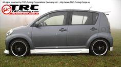 TRC tuning Daihatsu Sirion Sport bicolore