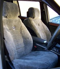 If you are looking to make your luxury car even more luxurious, I would look into some custom seat covers.  These are sure to keep your seats protected while you ride in style.  I love the texture of these and can only imagine how they would feel.