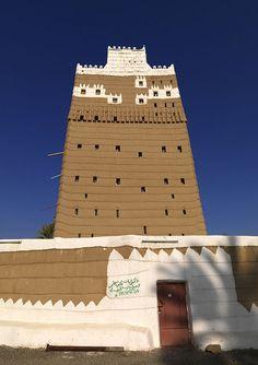 Najran old mud house - Saudi Arabia