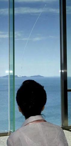 Park Geun-hye observa el lanzamiento de un misil de largo alcance de Corea del Sur