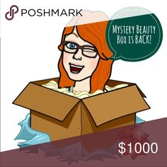💋🎉📦 Mystery Beauty Box 📦 🍾 💄 Thanks to the interest in my weekend beauty box, I've decided to bring it back! I will send you 5-10 beauty items of various types and sizes from mid to high end brands. Sephora Makeup