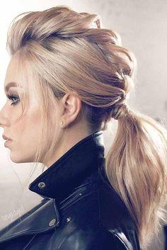 Eingängige Winterfrisur-Ideen für langes Haar - Neueste Frisuren