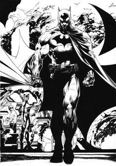 Batmam by Jim Lee