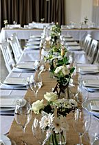 Table Decorations From Byron Bay Wedding Flowers