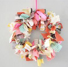 cloth wreath