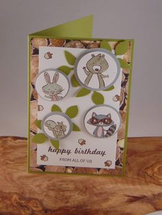 We must Celebrate! Stampin Up