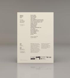 Modern History | Studio Contents