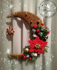 1 million+ Stunning Free Images to Use Anywhere Christmas Swags, Handmade Christmas Decorations, Noel Christmas, Diy Christmas Ornaments, New Year's Crafts, Holiday Crafts, Diy And Crafts, Holiday Decor, Theme Noel