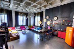 Industrial Loft Interior Design With Colour Pinterest: @keraavlon