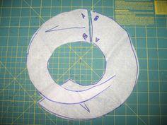 Free tutorial: swirl skirt pattern