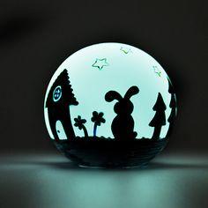 Illuminate the Night - Design Your Own Glowing Light Globe