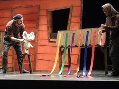 """Imagen del espectáculo de teatro en inglés para educación infantil y primer ciclo de primaria """"The vain little mouse"""""""