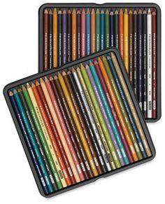 Prismacolor Colored Pencils, instruction and techniques.