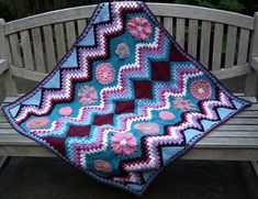 Ravelry: Project Gallery for Mrs. Ghan Afghan pattern by Melinda Miller