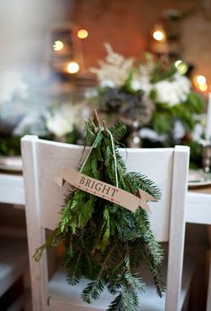 REVEL: Evergreen Chair Decor