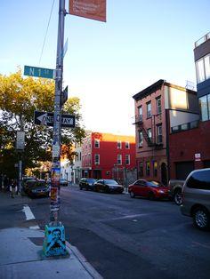 Williamsburg in Brooklyn New York, 2013