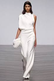 Image result for dominatrix white wedding pant suit