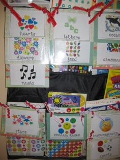 use hanging shoe racks to organize your stickers!