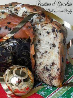 Panettone al Cioccolato,ricetta HomeMade - Dolcissima Stefy