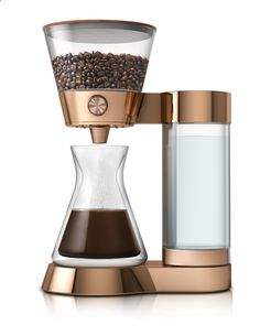 Coffee Maker - Amazon has invented tiny plastic buttons that allow for instant product ordering
