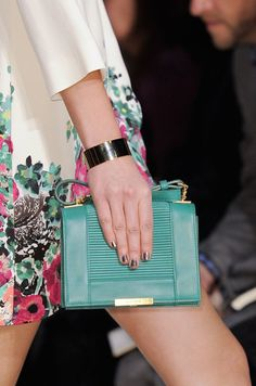 Le Sac, C'est Chic: The Best Bags from Paris Fashion Week Spring 2014: Elie Saab Spring 2014
